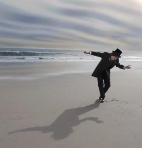 Edgar Allen Poe - A dream Within a dream with John Munnelly on beach
